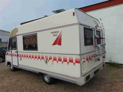 sat anlage wohnmobil gebraucht frankia vollintegriertes wohnmobil mit wohnwagen wohnmobile