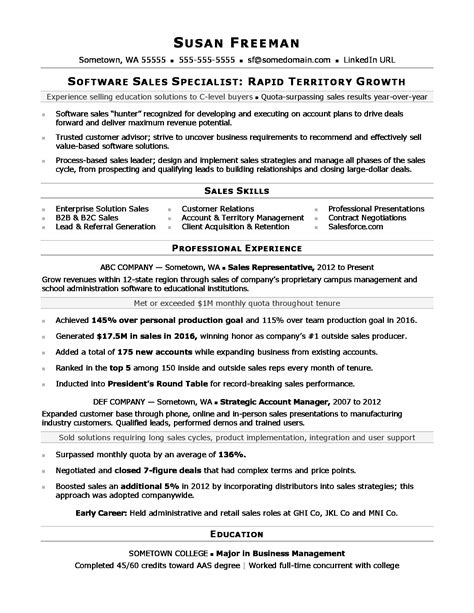 Resumes For Sales Associates by Sales Associate Resume Sle