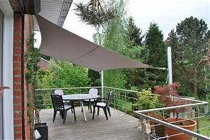 terrasse sur pilotis et voile d39ombrage une voile With toile tendue exterieur terrasse 2