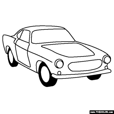 Volvo Kleurplaat by Coloring Pages Starting With The Letter V Page 2