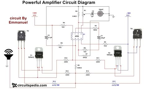 How Make Audio Power Amplifier Circuit Electronic