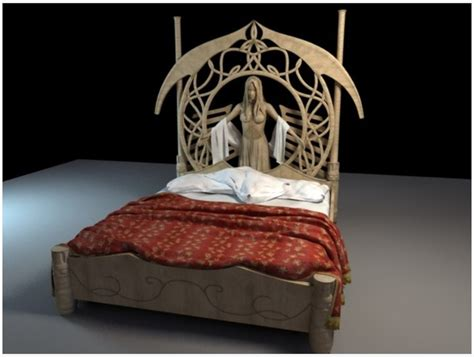 ring beds 3d lord of the rings rivendel bed images frompo