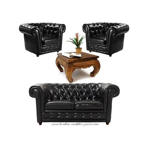 canapé chesterfield noir canape fauteuil chesterfield cuir design de maison