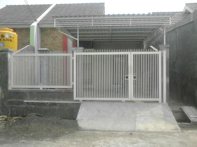 usaha pembuatan pagar baja ringan minimalis modern