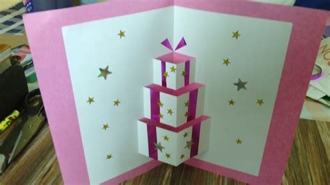 Handmade Pop Up Card Doovi
