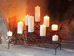 fireplace candle inserts design decoration With best brand of paint for kitchen cabinets with swedish christmas candle holder