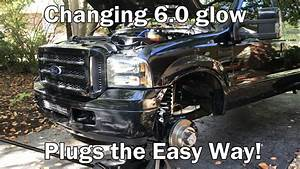 Changing 6 0 Powerstroke Glow Plugs The Easy Way