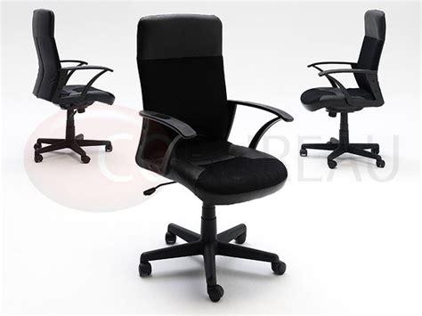 co bureau 187 fauteuil de bureau igo mesh cuir