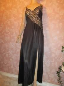 Elegant Long Black Nightgown