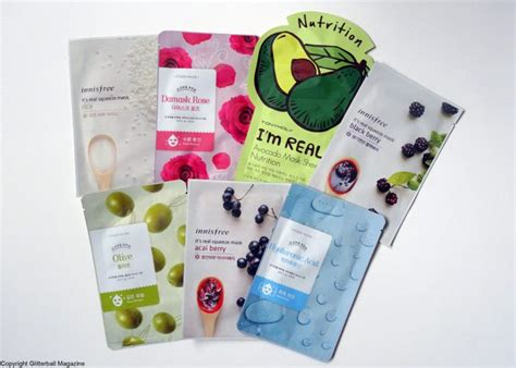 best korean sheet mask a mini korean sheet mask haul glitterball magazine