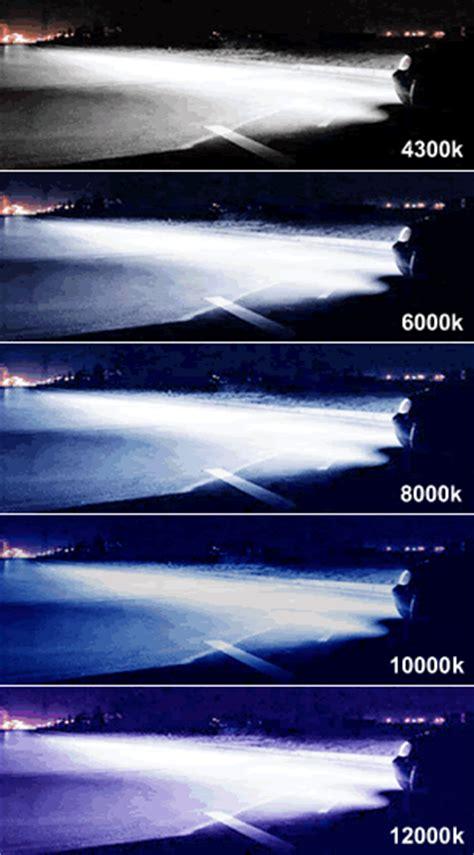 6k Hid Lights by D1s Bulbs 6000k Vs 8000k