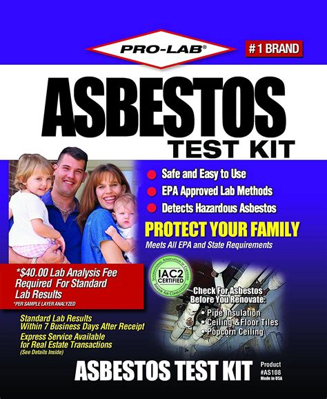 pin  asbestos testing