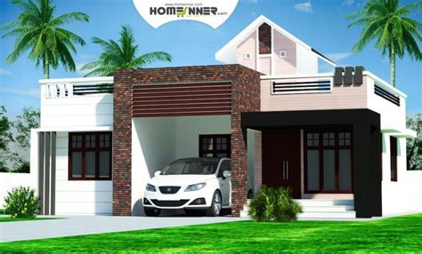Home Design Ideas In Low Cost by Rectangular Kerala Home Plans Design Low Cost Bhk