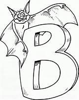 Bat Coloring Pages Printable Print sketch template