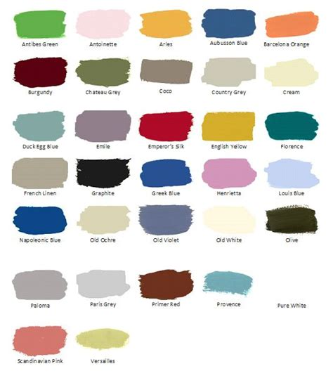 sloan chalk paint colors mix and match to make