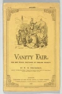 Vanity Fair Us Edition by Vanity Fair Edition By William Makepeace Thackeray