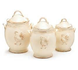 country kitchen canisters amazon com rooster provence ceramic country kitchen canister set food canisters