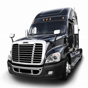 Freightliner Cascadia Projector Headlight W   White Led