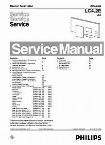 Philips Tv Ch Lc4 2e Aa Service Manual Service Manual Free