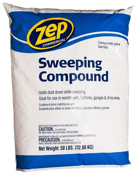 zep commercial hdsweep50 floor sweeping compound 50 bag