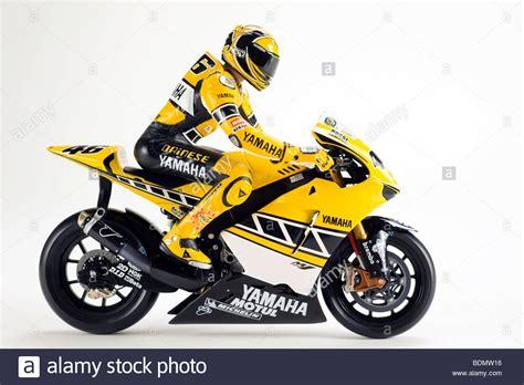 Model Of A Yamaha Racing Motorbike, Valentino Rossi Figure