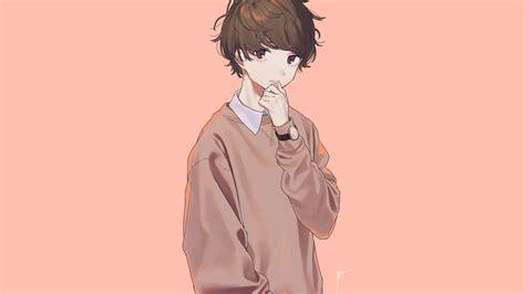 Download 1920x1080 Anime Boy Pretty Cute Brown Hair
