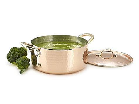kuprum copper pot  quarts tin lined hand hammered buy   united arab ermiates