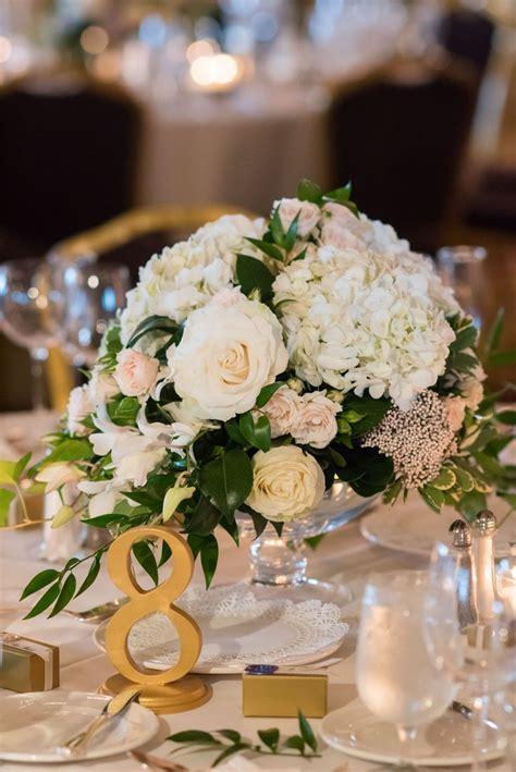 ivory blush  lots  lush greens oblong wedding