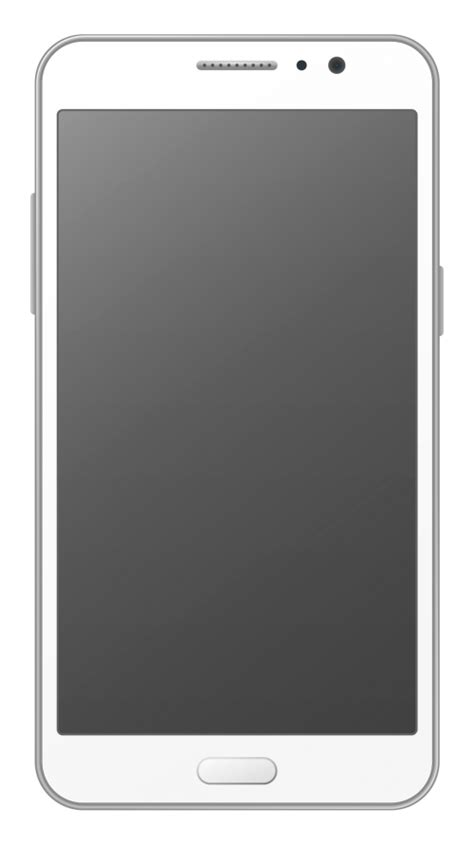mobile phone icon vector png white smartphone vector png transparent image pngpix