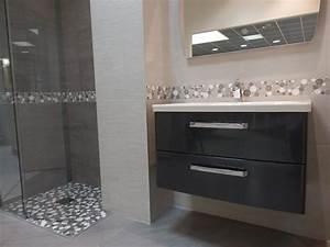 Carrelage Noir Salle De Bain : attrayant carrelage noir et blanc cuisine 7 salle de ~ Dailycaller-alerts.com Idées de Décoration