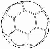 Soccer Ball Outline Coloring Pages Cool Wecoloringpage Printable Read Barbie Easter Boys sketch template