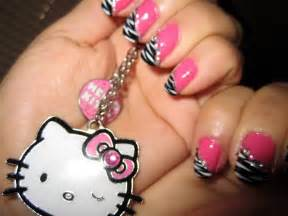 Hello kitty nail polish design designs picture