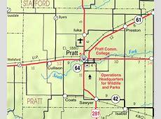 Pratt Kansas Map Kansas Map