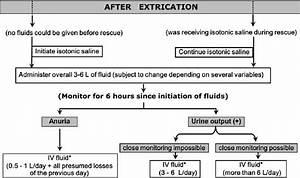 Algorithm for fluid resuscitation to prevent crush-related ...