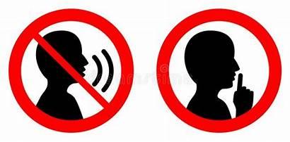 Silent Quiet Keep Please Shhh Talking Person