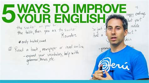 5 Great Ways To Improve Your English! · Engvid
