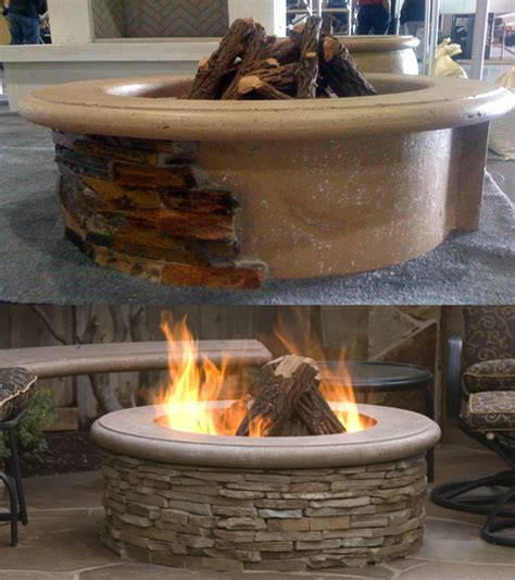 contractorsmodelfirepit las vegas outdoor kitchen
