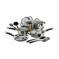 cuisinart classic ceramic  stick  piece cookware set blue  ebay