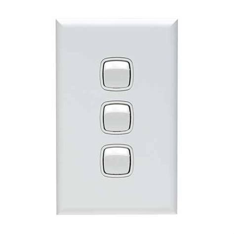 hpm light switch 3 switches outlets mitre 10