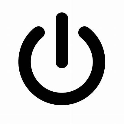 Power Button Computer Orange Bluetooth Symbols Common