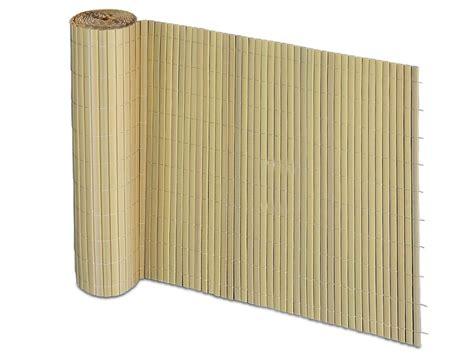 Sichtschutz Pvc Bambus by Pvc Sichtschutz Zaun Bambus Optik Floordirekt De