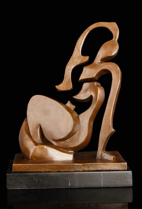 Abstract Bronze Sculpture modern Art Bronze Figure   Wham ...