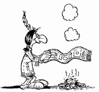 Smoke Signals Coloring Indianer Ausmalbilder Coloringcrew Da
