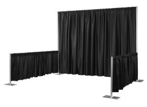 Pipe And Drape Rental Los Angeles - rent pipe and drape los angeles for a successful temporary