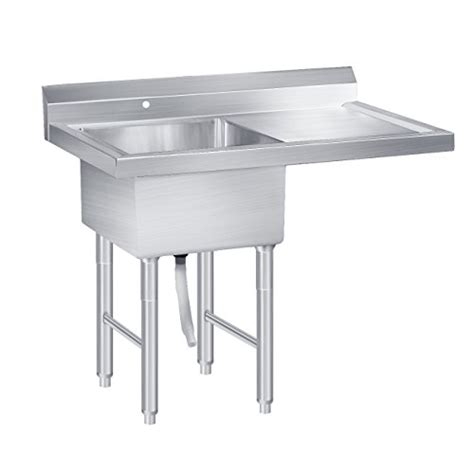 18 wide utility sink beamnova commercial stainless restaurant kitchen utility