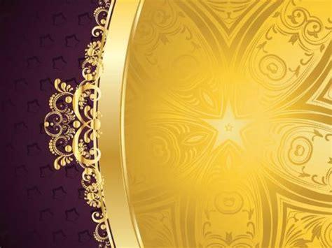 golden  purple decorative background vector
