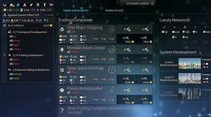 Trading Companies And Marketplace In Endless Space 2
