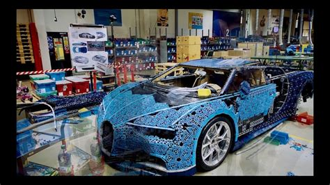 It contains more than a million lego components of 339 types, including 58 types custom made for this project. Full Size Moving Bugatti Chiron made of LEGO Technic - Jedi News