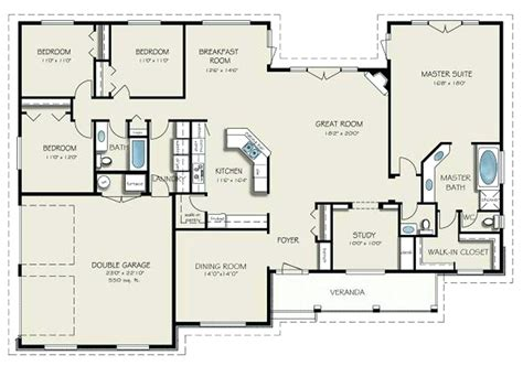 4 bedroom floor plans 2 4 bedroom 2 1 bath house plans 4 bedroom 3 5