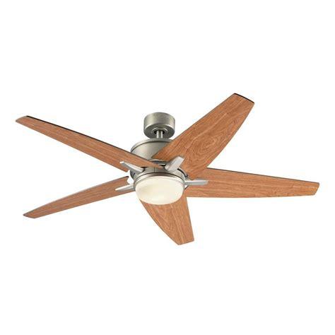 lowes ceiling fan light kit harbor breeze trestle ridge 52 in brushed nickel ceiling